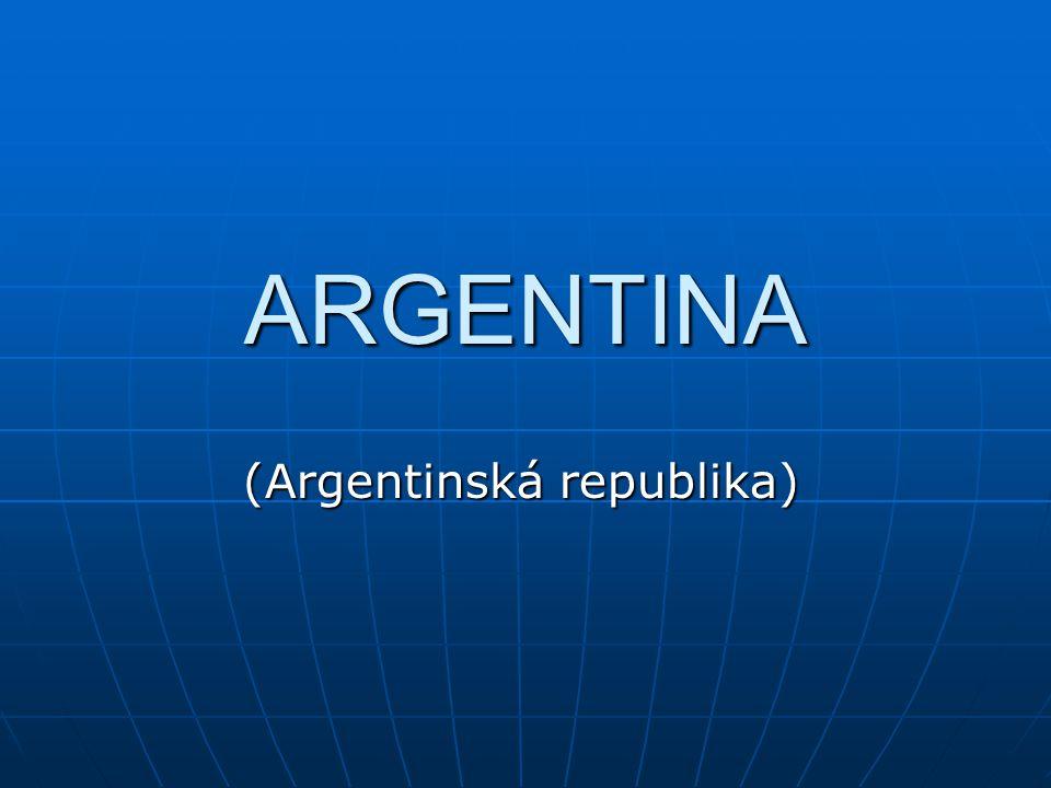 ARGENTINA (Argentinská republika)