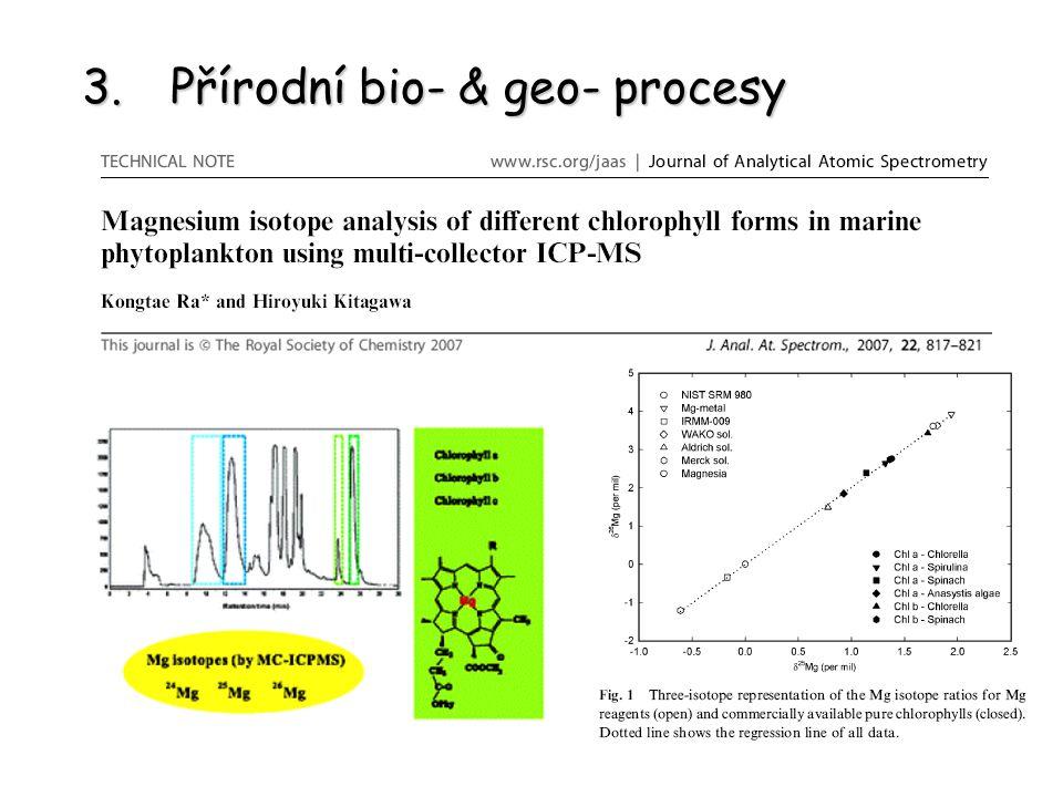 3.Přírodní bio- & geo- procesy