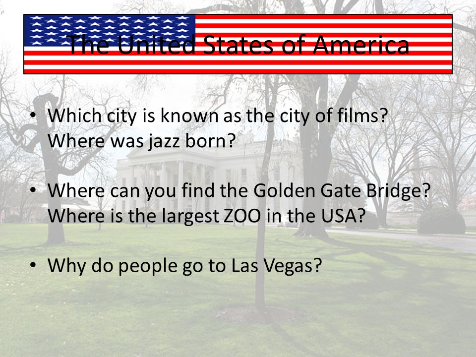Which city is known as the city of films.Where was jazz born.