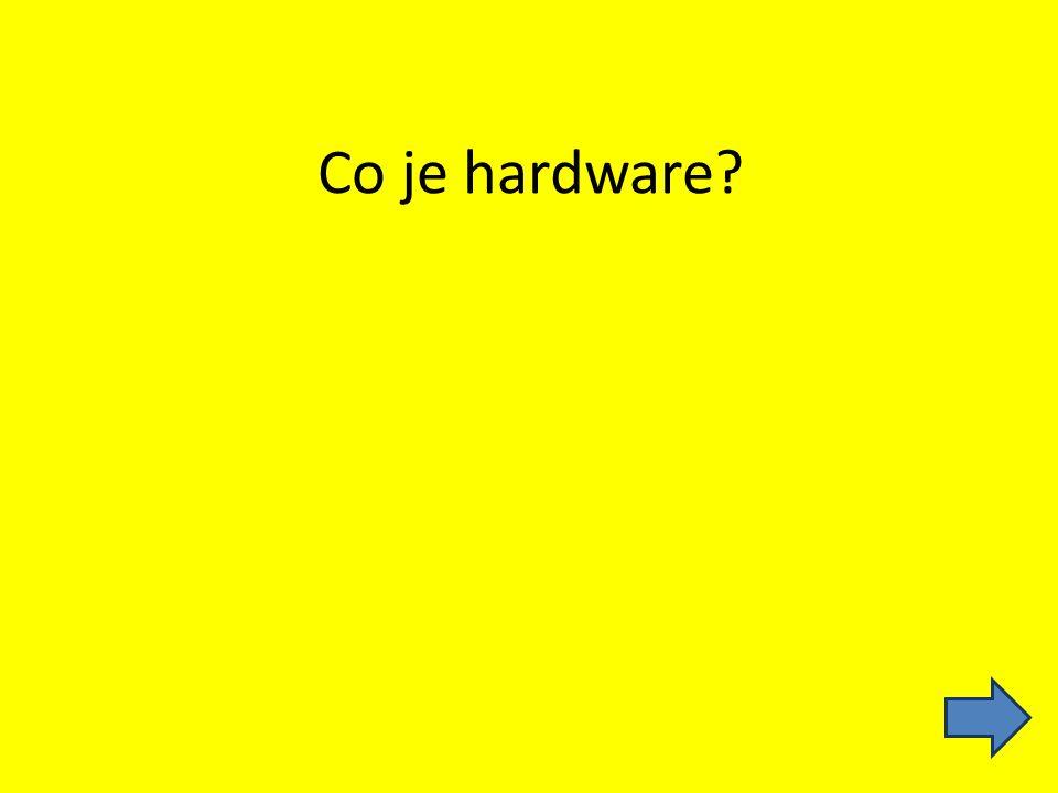 Co je hardware