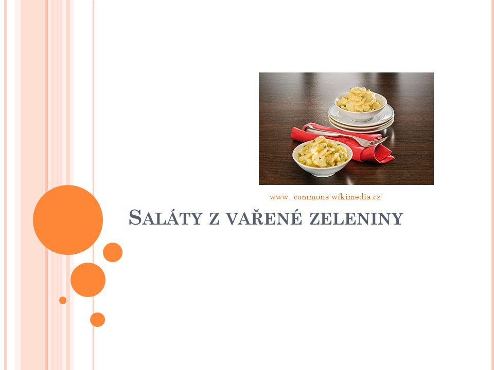 S ALÁTY Z VAŘENÉ ZELENINY www. commons wikimedia.cz