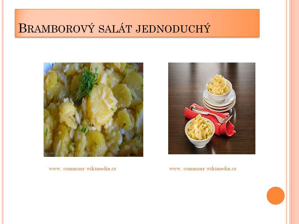 B RAMBOROVÝ SALÁT JEDNODUCHÝ www. commons wikimedia.cz