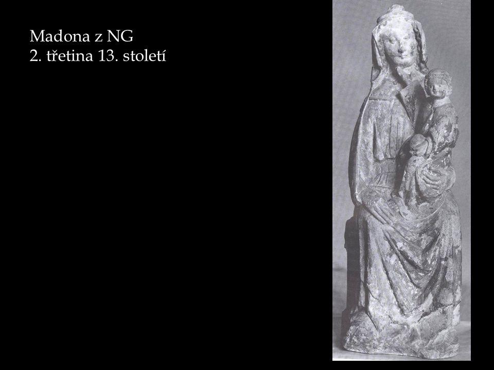 Amiens, Vierge doreé (kolem 1240)/ Madona ze St.