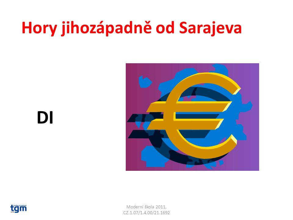 Moderní škola 2011, CZ.1.07/1.4.00/21.1692 Hory jihozápadně od Sarajeva DI Dinárské