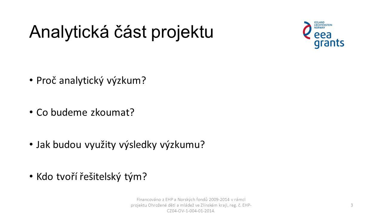 Zpracování analýz v projektu Část č.I: Analýza regionu Část č.