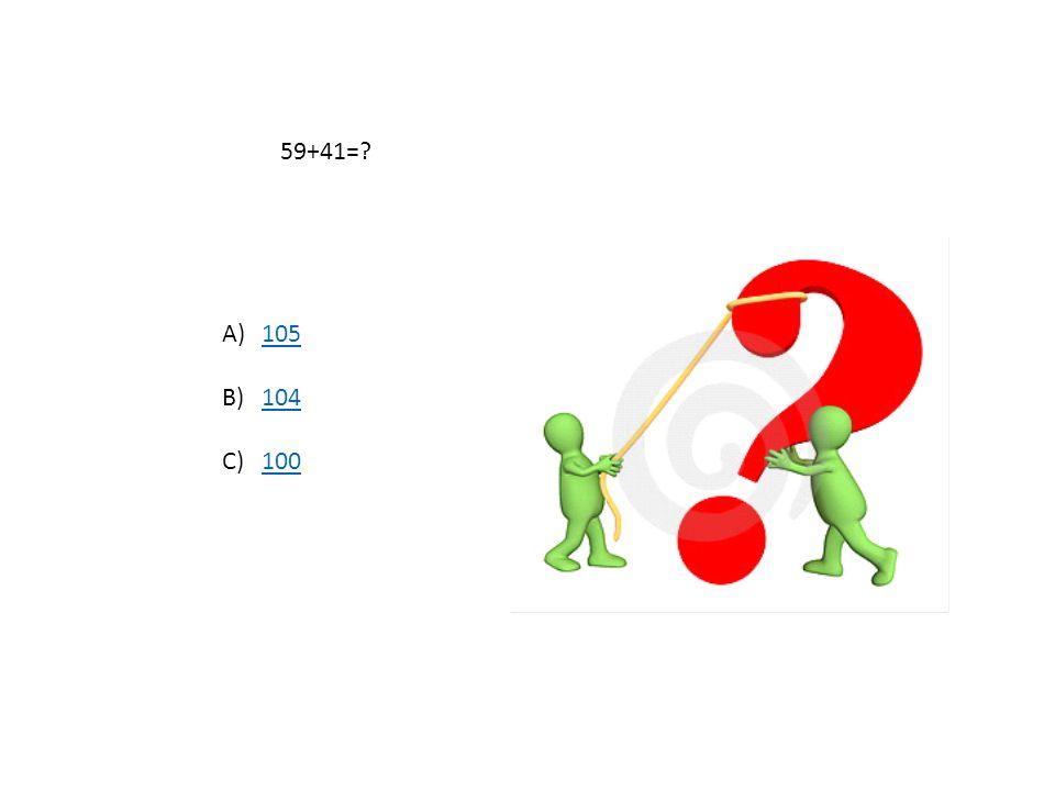 100-54=? A)4040 B)3838 C)4646