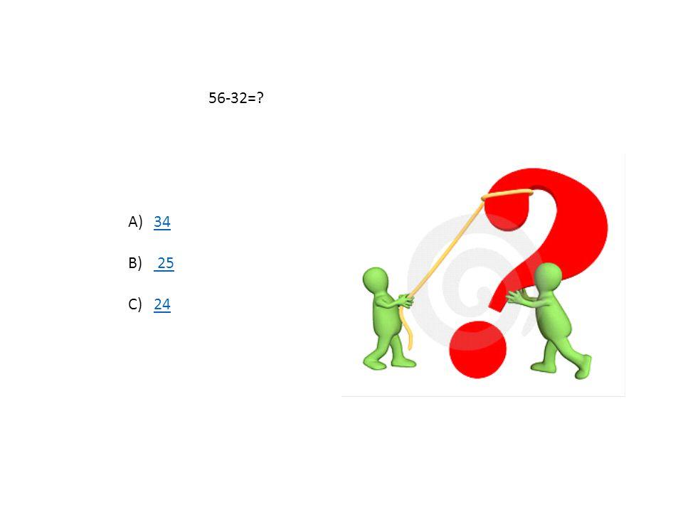 54+61=? A)115115 B) 108 108 C) 121121