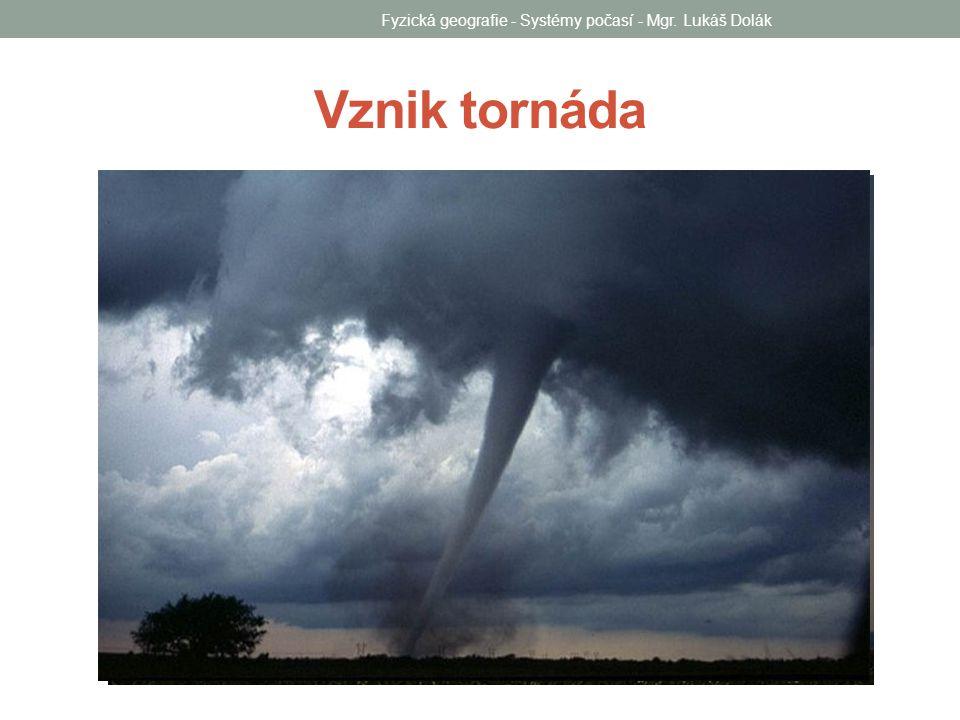 Tropická cyklona Fyzická geografie - Systémy počasí - Mgr. Lukáš Dolák