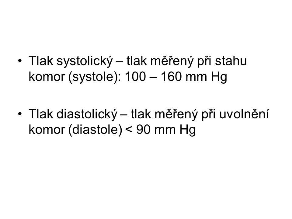 Tlak krve hlavním činitelem ovlivňující TK jsou činnost srdce a periferní odpor se může změnit změnami minutového objemu srdce při zúžení cév (vasokonstrikci) se periferní odpor a tedy i TK zvýší a naopak, při rozšíření cév (vasodilataci) se oba ukazatelé sníží