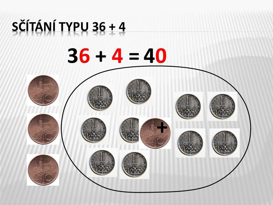 Vypočítejte: 65 + 5 =42 + ___= 50 38 + 2 =75 + ___= 80 59 + 1 =86 + ___= 90 92 + 8 = 69 + ___= 70 26 + 4 =57 + ___= 60 7 70 40 60 100 30 8 5 4 1 3