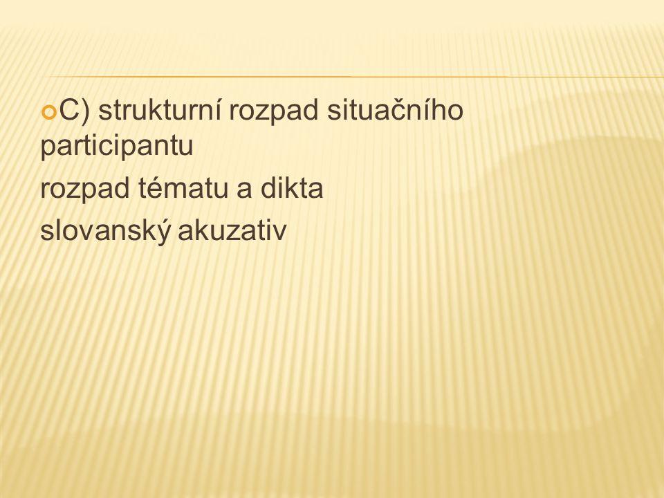  Korpusy: Narodowy korpus języka polskiego: www.nkjp.pl Национальный корпус русского языка: www.ruscorpora.ru  Internet (sporné příklady ověřovány u rodilých mluvčích)  Vlastní příklady rodilých mluvčích