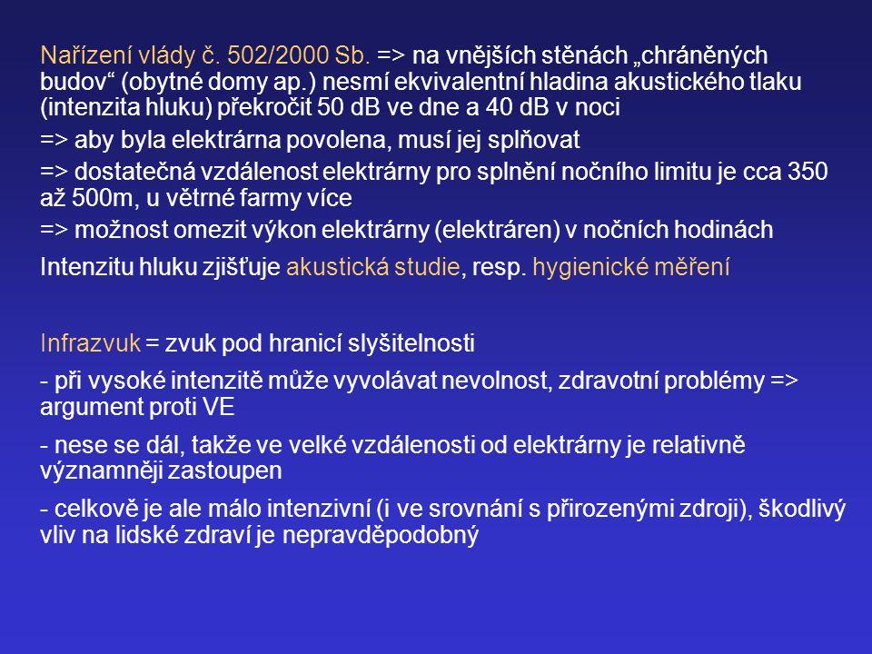 Nařízení vlády č.502/2000 Sb.