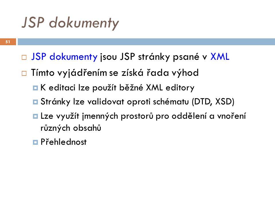JSP dokument - příklad 52
