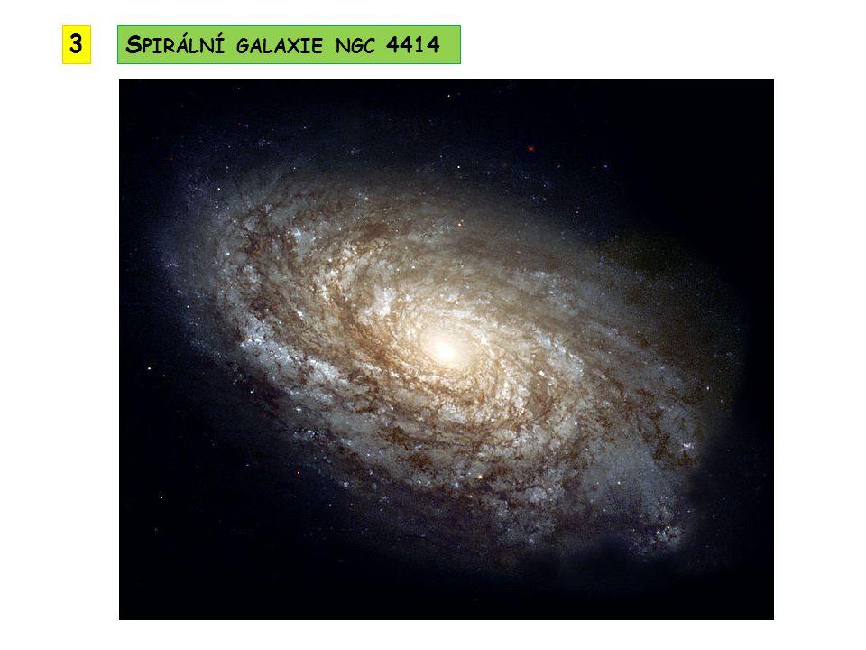 S PIRÁLNÍ GALAXIE NGC 4414 3