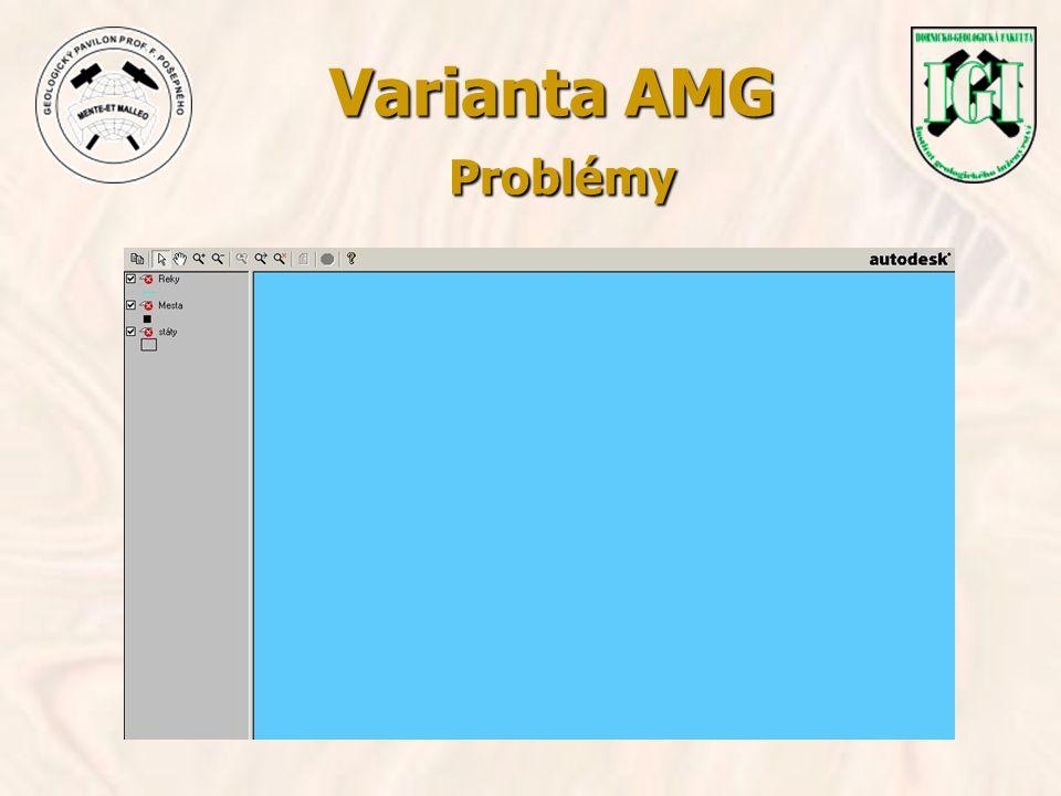 Varianta AMG Problémy