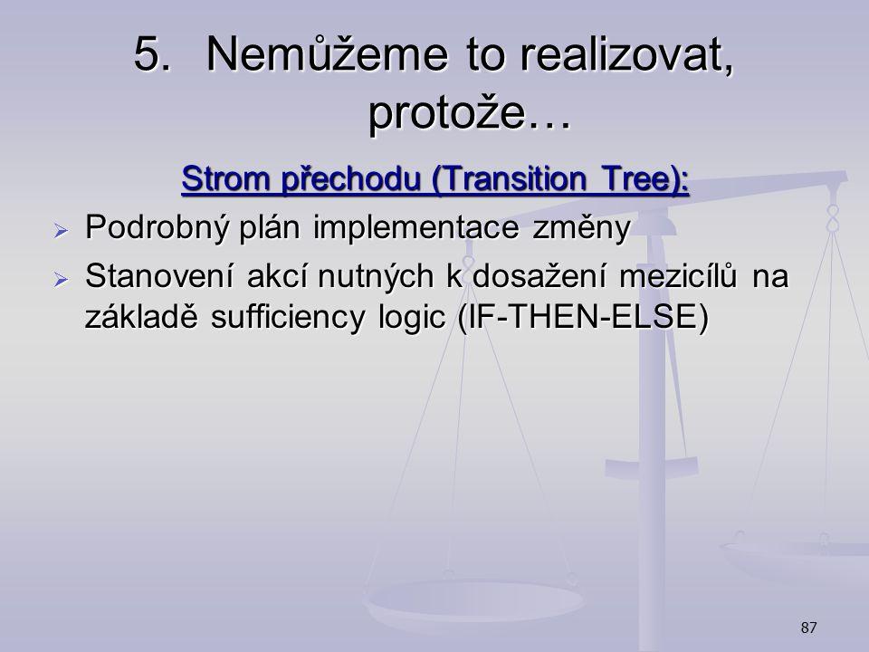 86 Prerequisite tree - example