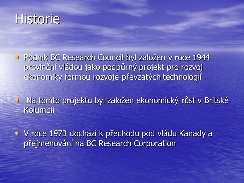 Historie V roce 1993 byla společnost zprivatizována a tím pádem se z ní stává zisková organizace.