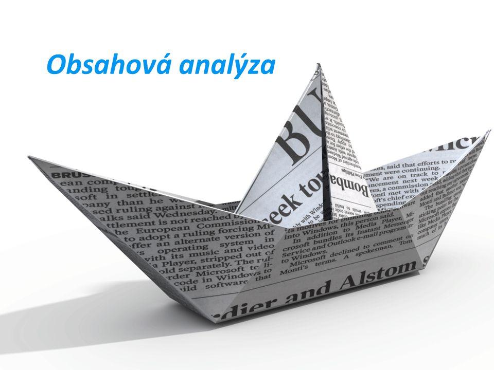 Obsahová analýza