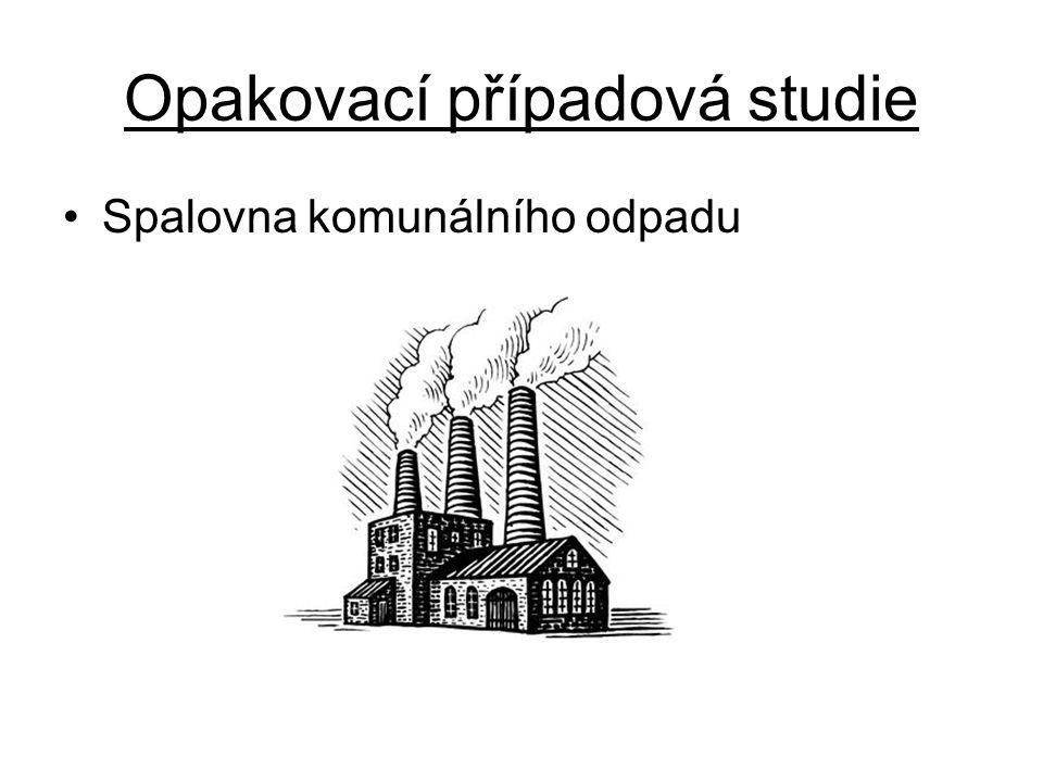 Opakovací případová studie Spalovna komunálního odpadu