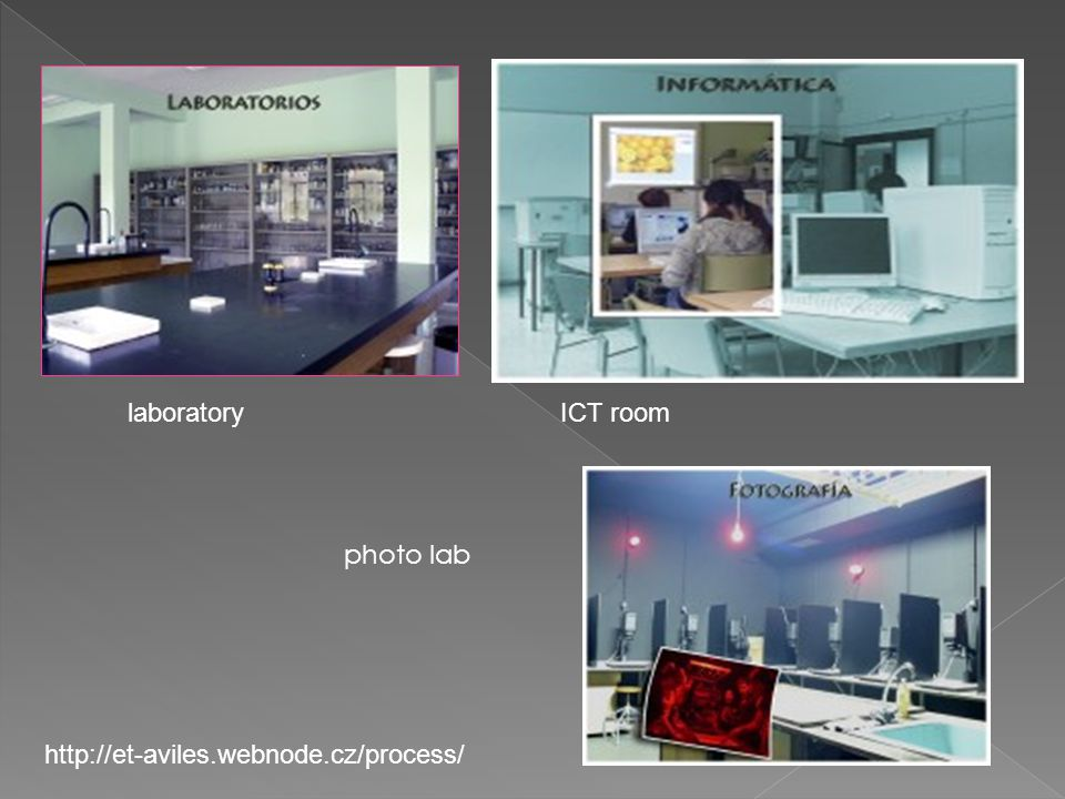 laboratoryICT room photo lab http://et-aviles.webnode.cz/process/