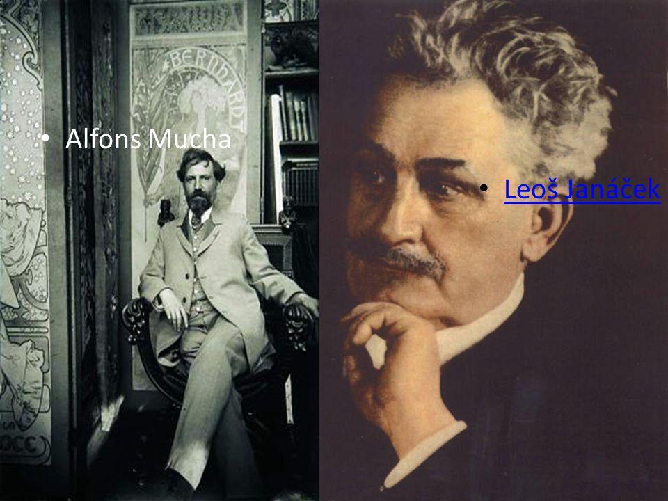 Leoš Janáček Alfons Mucha