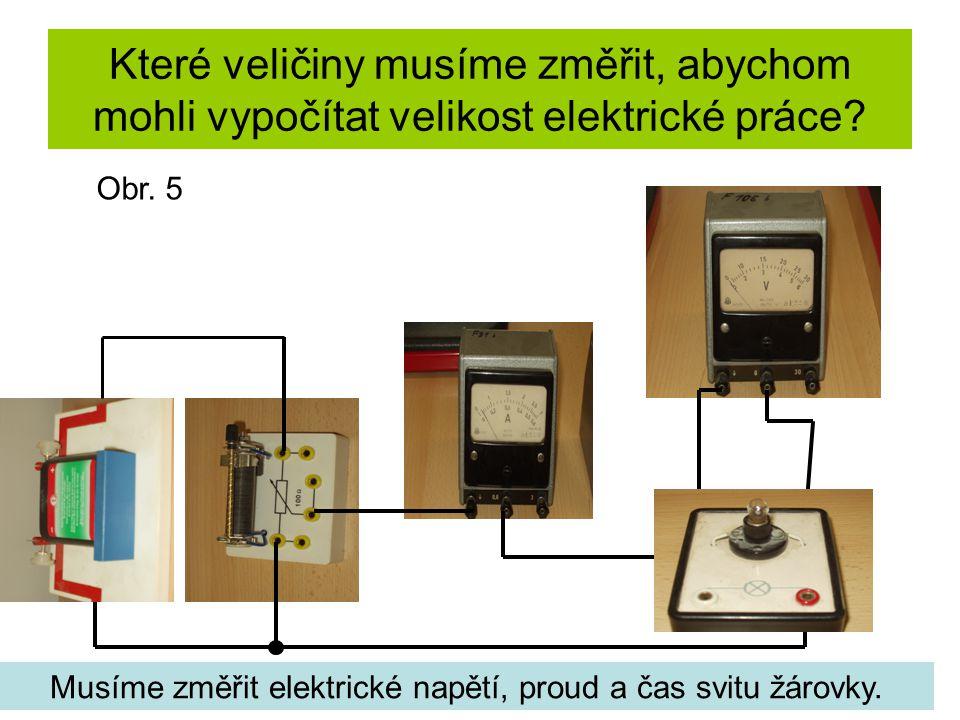 Jak vypočítat elektrickou práci.
