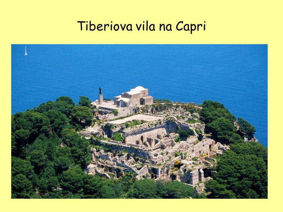 Tiberiova vila na Capri