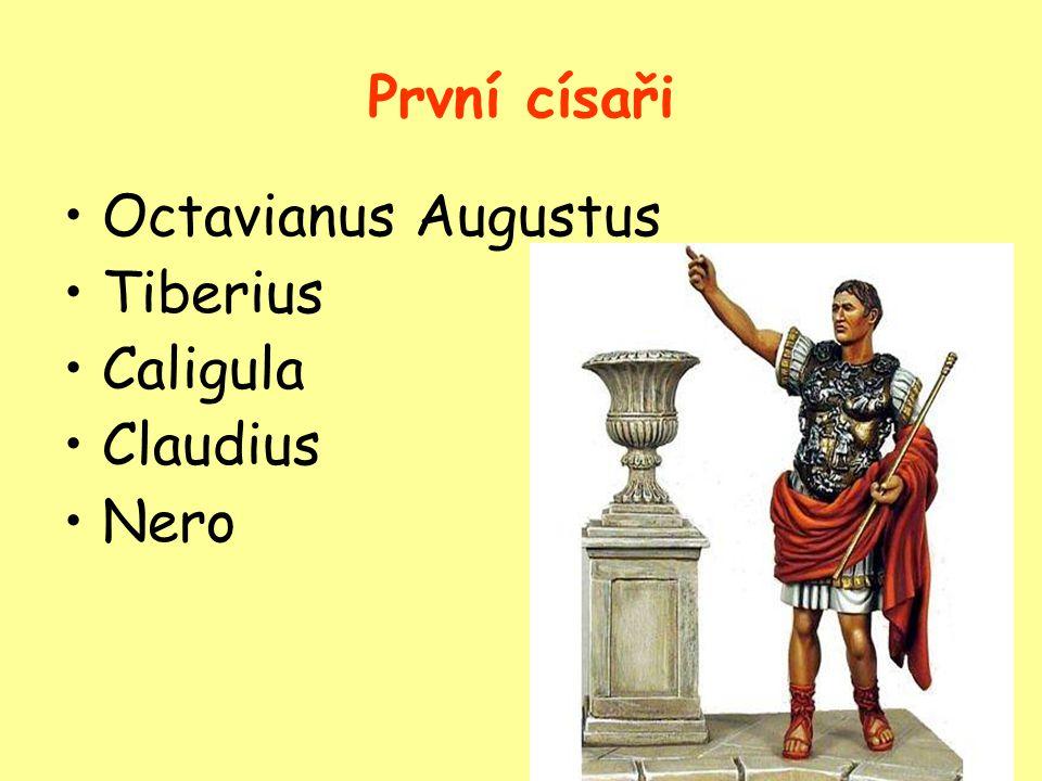 """Zničení měst Pompeje a Herkulaneum Žhavá láva a popel město """"zakonzervovaly pro dnešní archeology- archeolog.průzkum zahájen 1860 Cenný pramen informací o tehdejší době V Pompejích zahynula asi 1/10obyvatel Učenec Plinius při pozorování zahynul"""