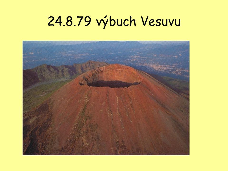 24.8.79 výbuch Vesuvu