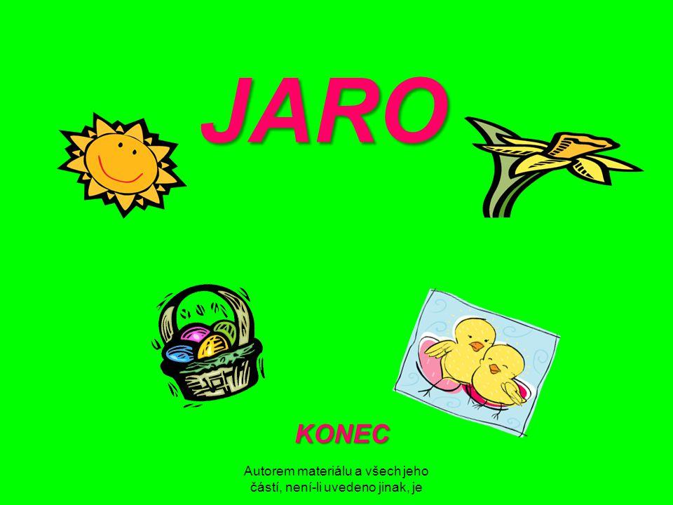 Autorem materiálu a všech jeho částí, není-li uvedeno jinak, je JARO KONEC