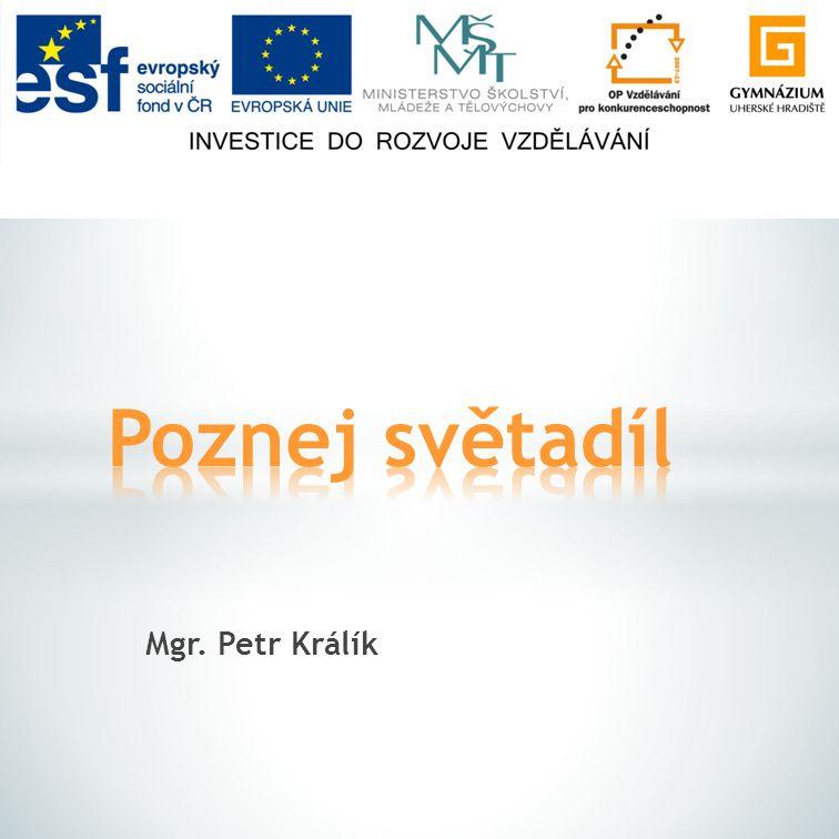 Mgr. Petr Králík