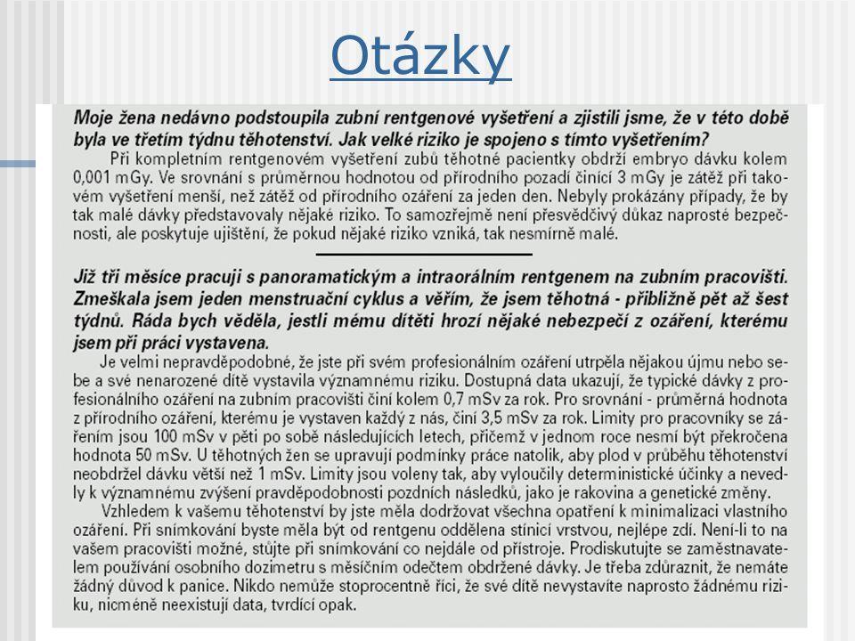 Lékařské ozáření zákon č.18/97 Sb.