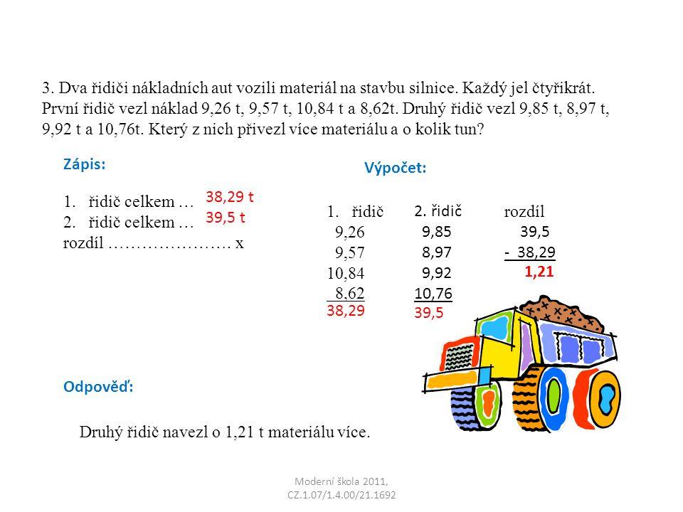 Moderní škola 2011, CZ.1.07/1.4.00/21.1692 3.