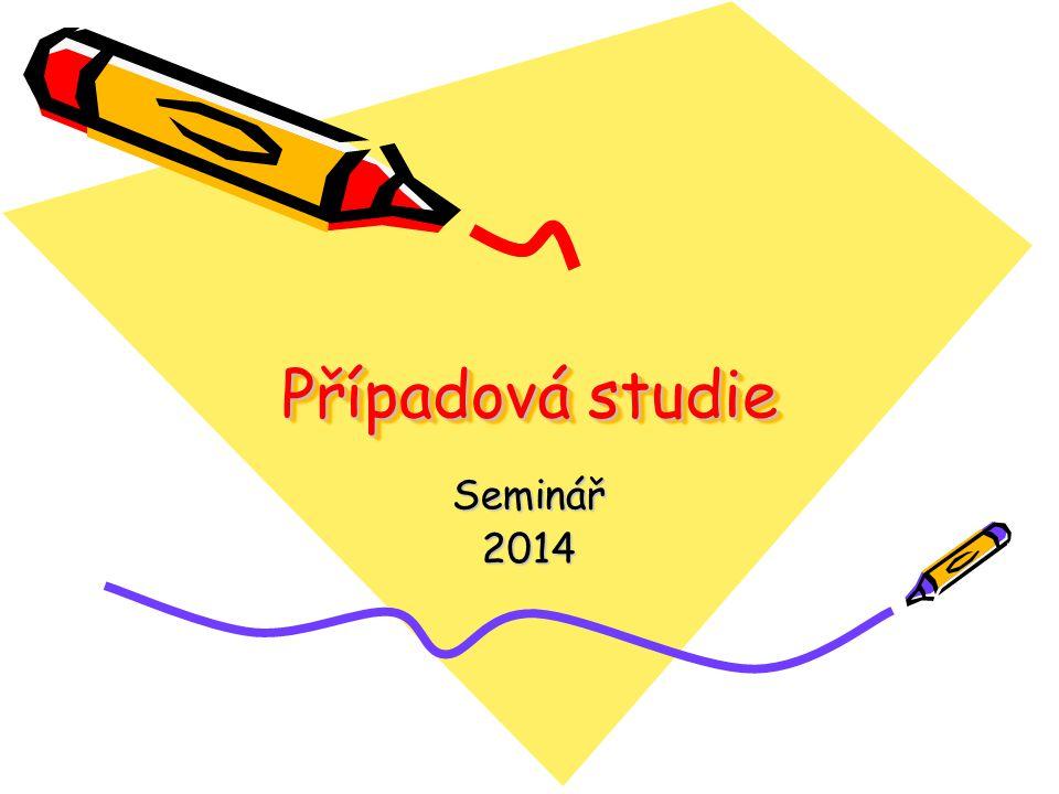 Případová studie Seminář2014