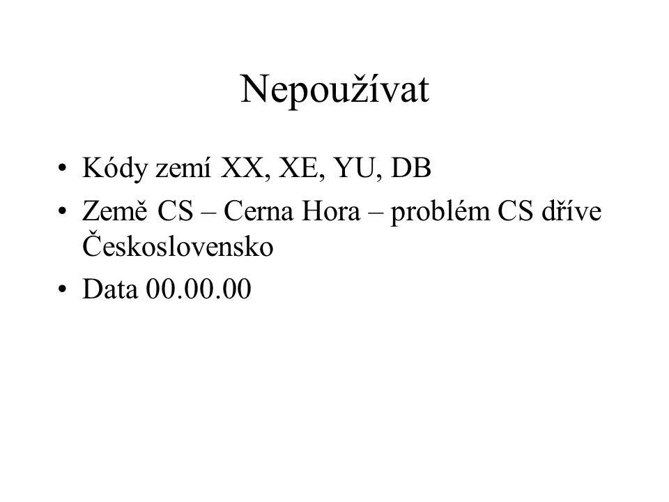 Kontrolní služba RIV https://kontrola.isvav.cvut.cz / Odeslat data ke kontrole