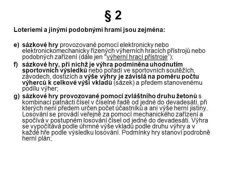 Přehled výsledků loterií a jiných podobných her za roky 2001 - 2006 - VŠECHNY HRY (v mil. Kč)