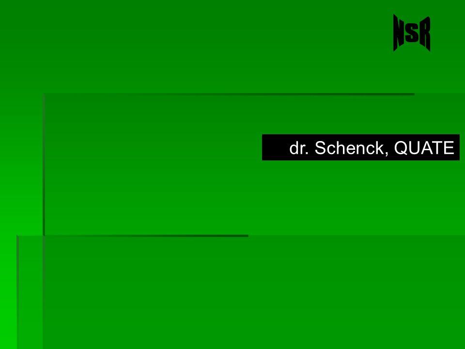 dr. Schenck, QUATE