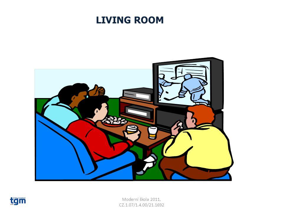Moderní škola 2011, CZ.1.07/1.4.00/21.1692 LIVING ROOM