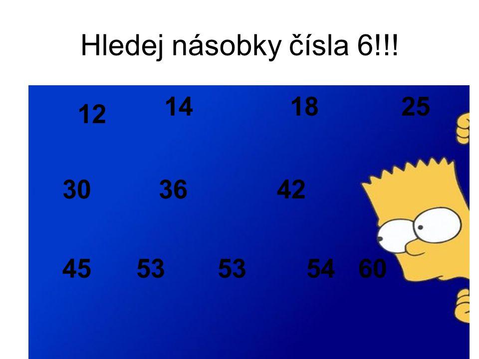 Počítej novou násobilku!!.2. 6 = 4. 6 = 6. 6 = 0.