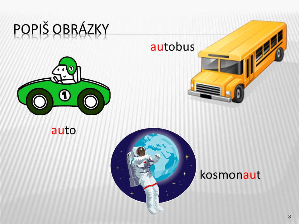 autobus 3 auto kosmonaut