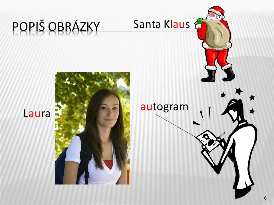 Santa Klaus 6 Laura autogram
