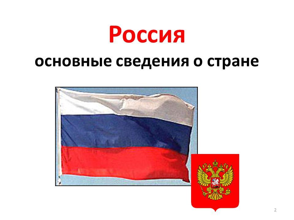 Россия основные сведения о стране 2