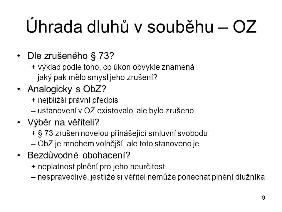 10 Použité předpisy Zákon č.