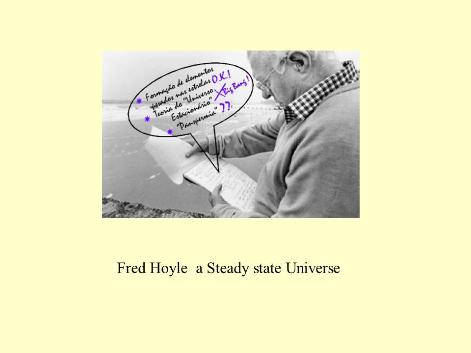 Fred Hoyle a Steady state Universe