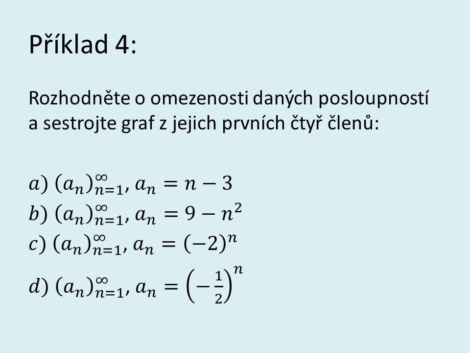 Řešení příkladu 4: d = -2