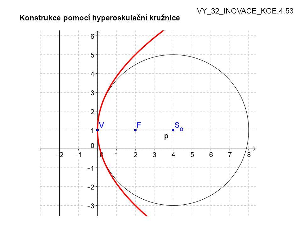 Konstrukce pomocí hyperoskulační kružnice VY_32_INOVACE_KGE.4.53