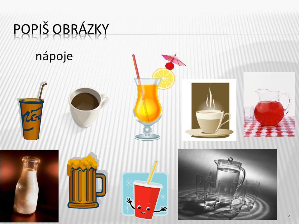 4 nápoje
