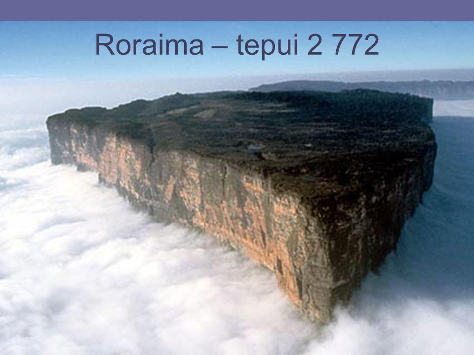 26.4.2015Zdeněk Bergman, G Teplice Roraima – tepui 2 772