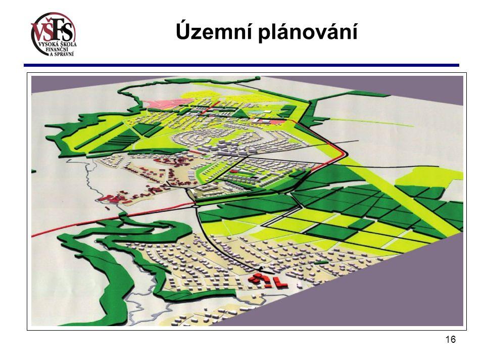 16 Územní plánování