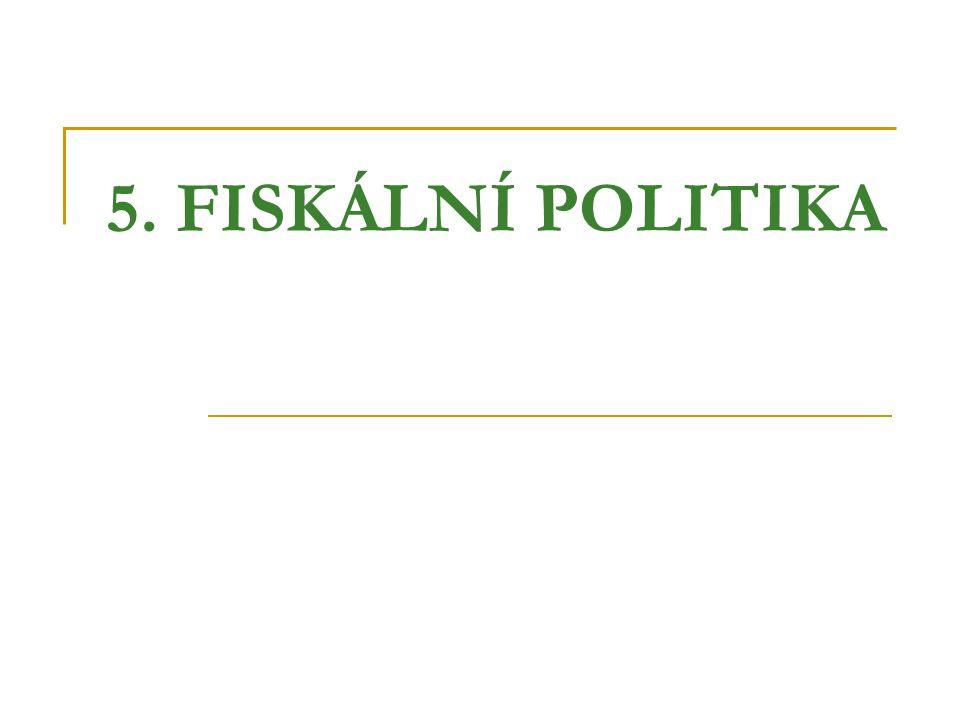 5. FISKÁLNÍ POLITIKA